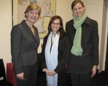 Photo with Congresswoman Baldwin