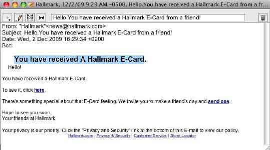 Consumer action dont fall for e card scams what you can do m4hsunfo