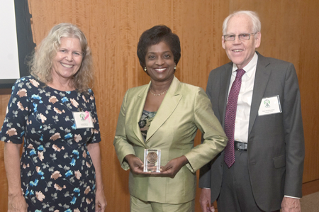 Ken, Linda, Clyburn award photo