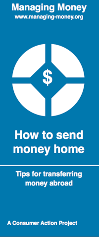 Consumer Action How To Send Money Home
