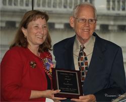 Ellen Corbett and Ken McEldowney image