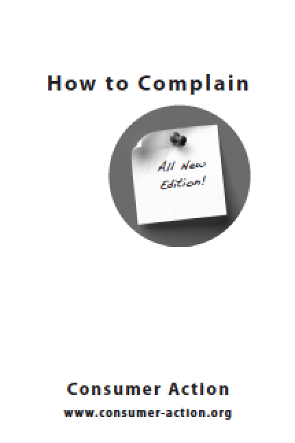Consumer Action - How to Complain