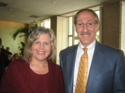 Linda and Herb pictured together
