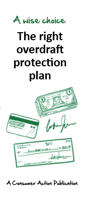 consumer action the right overdraft protection plan - Prepaid Card With Overdraft Protection