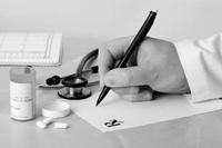 Prescription writing image