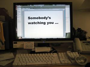 somebody watching you image