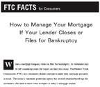 If Your Lender Closes or Files for Bankruptcy Image